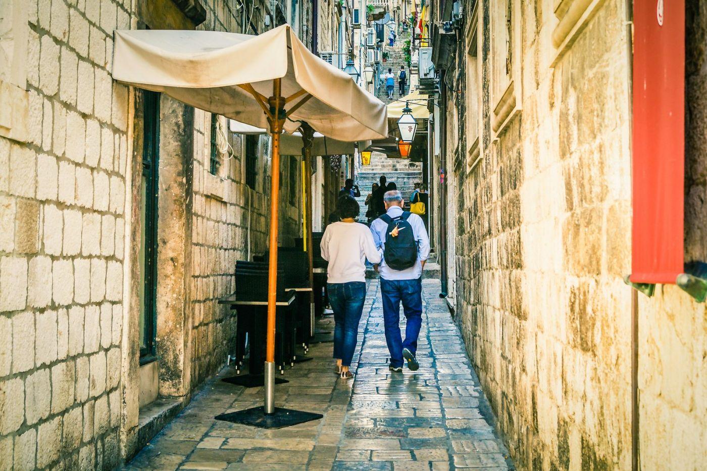克罗地亚杜布罗夫尼克(Dubrovnik),古城小巷_图1-18
