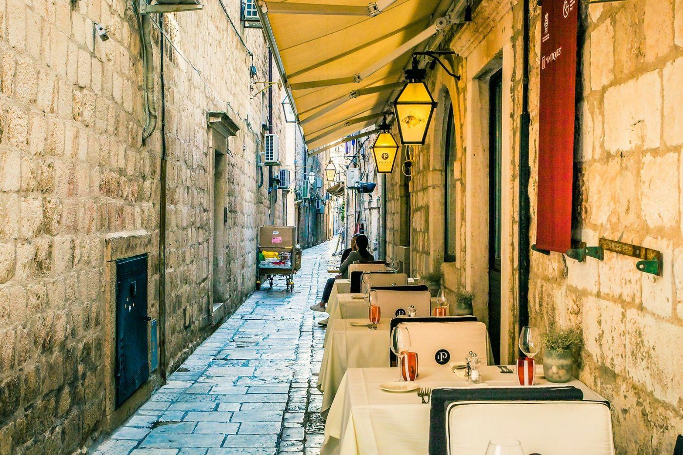 克罗地亚杜布罗夫尼克(Dubrovnik),古城小巷_图1-19