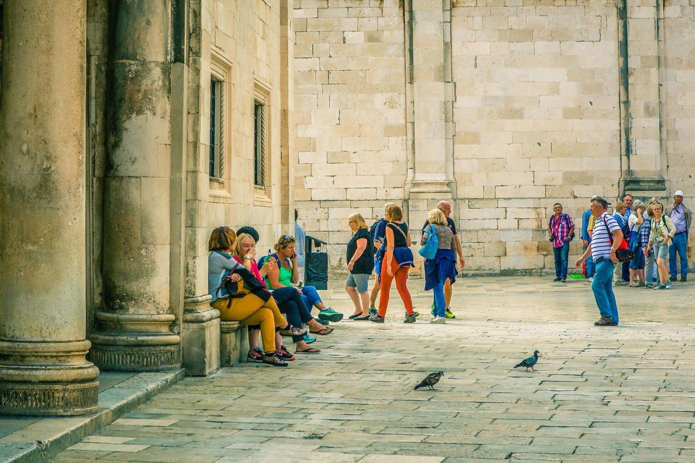 克罗地亚杜布罗夫尼克(Dubrovnik),古城小巷_图1-24