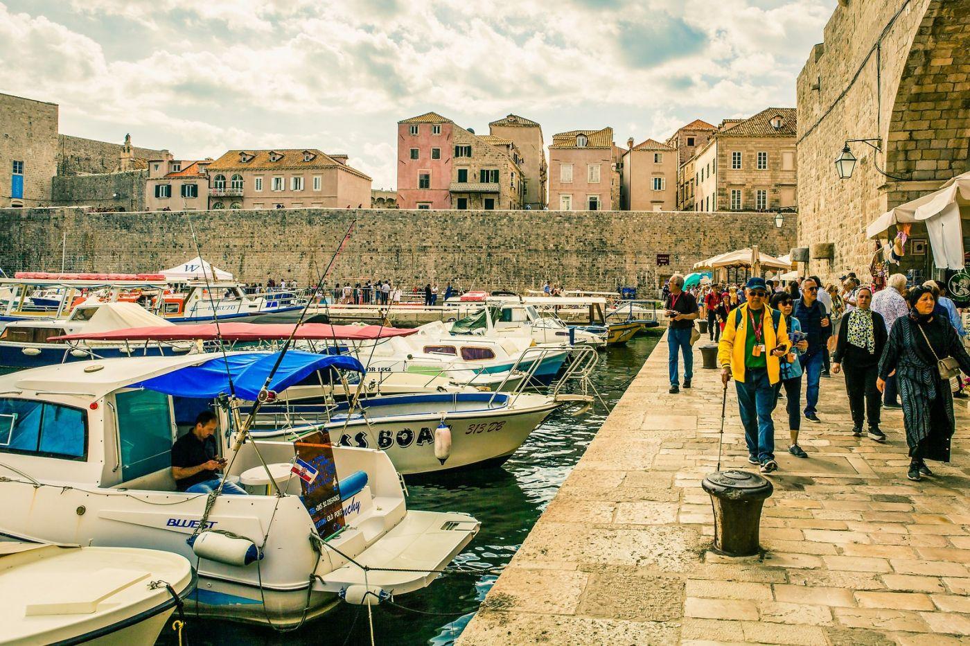 克罗地亚杜布罗夫尼克(Dubrovnik),古城小巷_图1-23