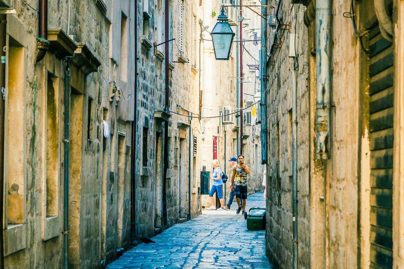 克罗地亚杜布罗夫尼克(Dubrovnik),古城小巷_图1-22