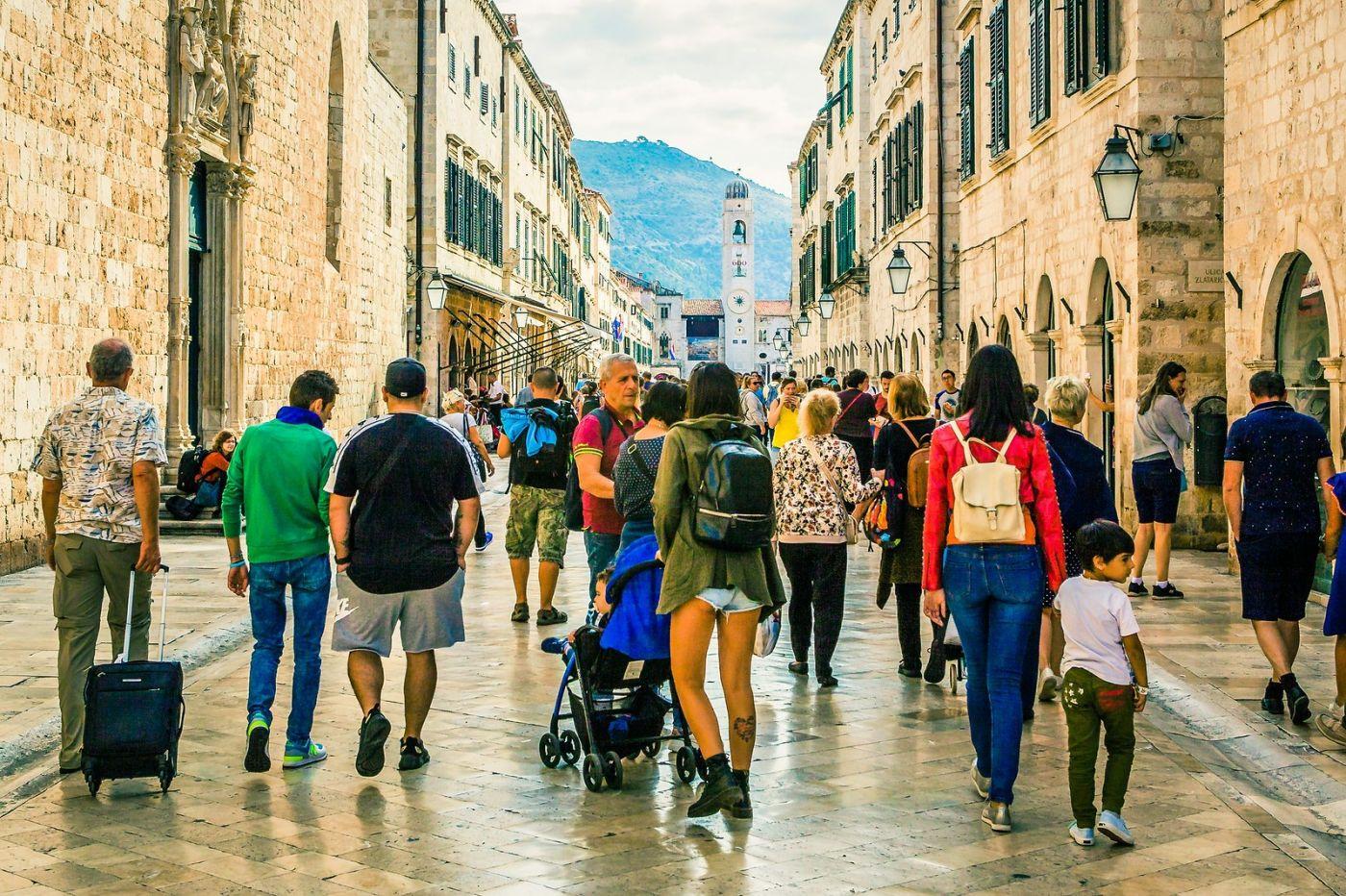 克罗地亚杜布罗夫尼克(Dubrovnik),古城小巷_图1-21