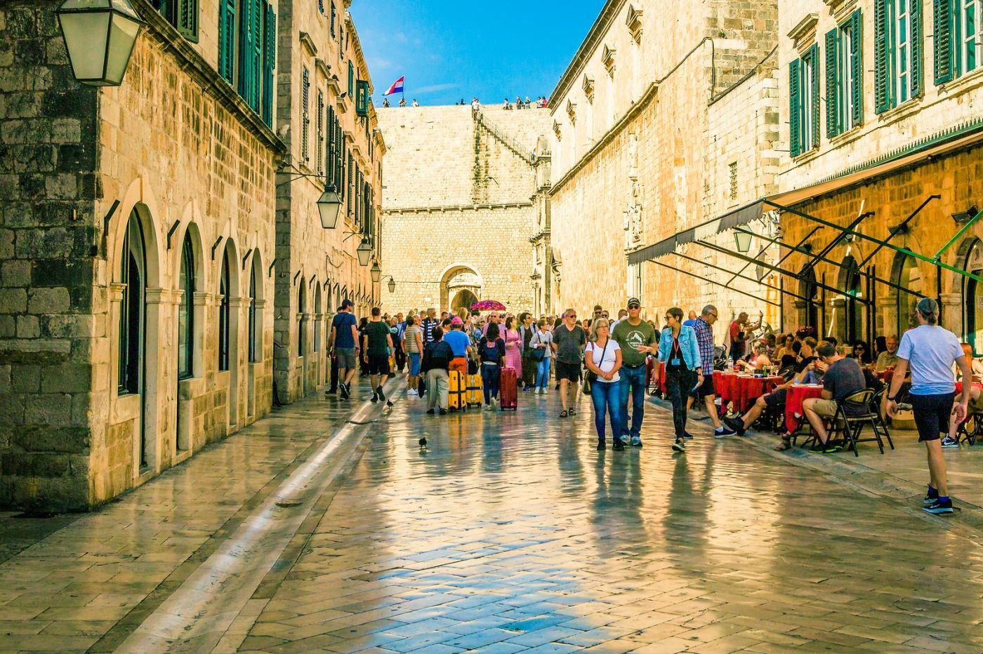 克罗地亚杜布罗夫尼克(Dubrovnik),古城小巷_图1-25