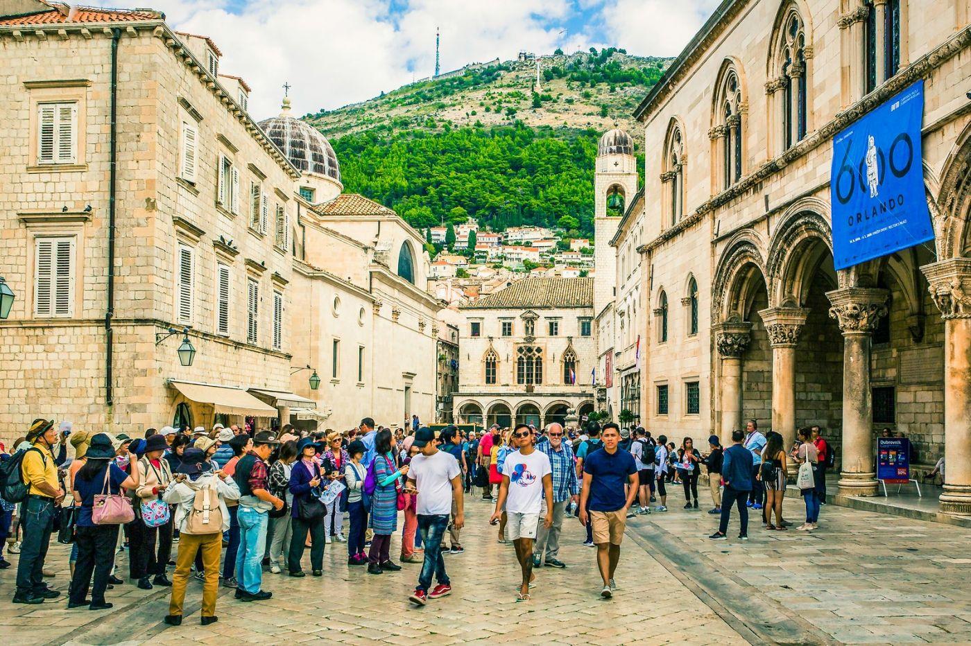 克罗地亚杜布罗夫尼克(Dubrovnik),古城小巷_图1-26