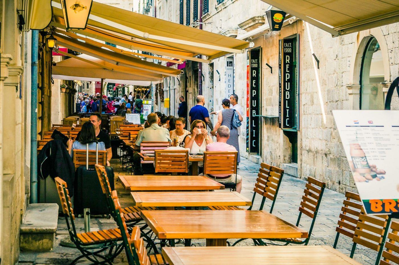 克罗地亚杜布罗夫尼克(Dubrovnik),古城小巷_图1-28