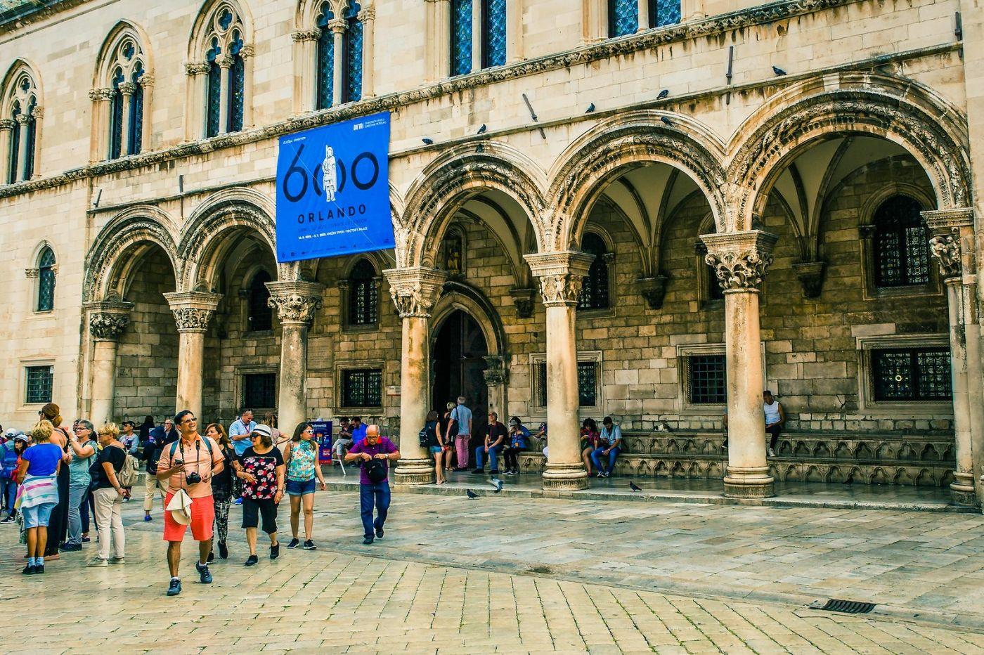 克罗地亚杜布罗夫尼克(Dubrovnik),古城小巷_图1-29