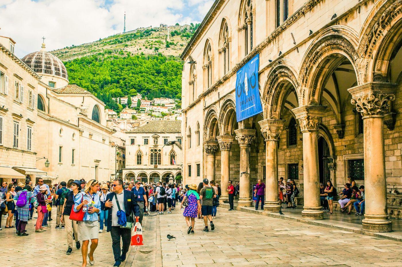 克罗地亚杜布罗夫尼克(Dubrovnik),古城小巷_图1-30