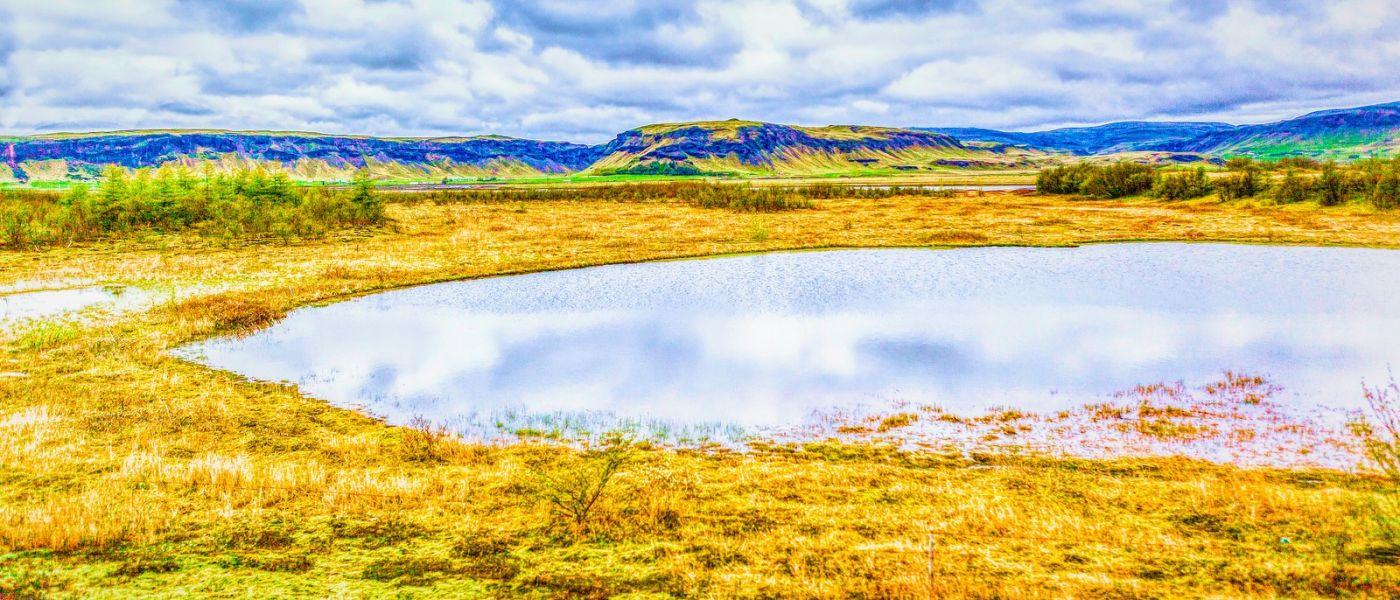 冰岛风采,彩绘大地_图1-2
