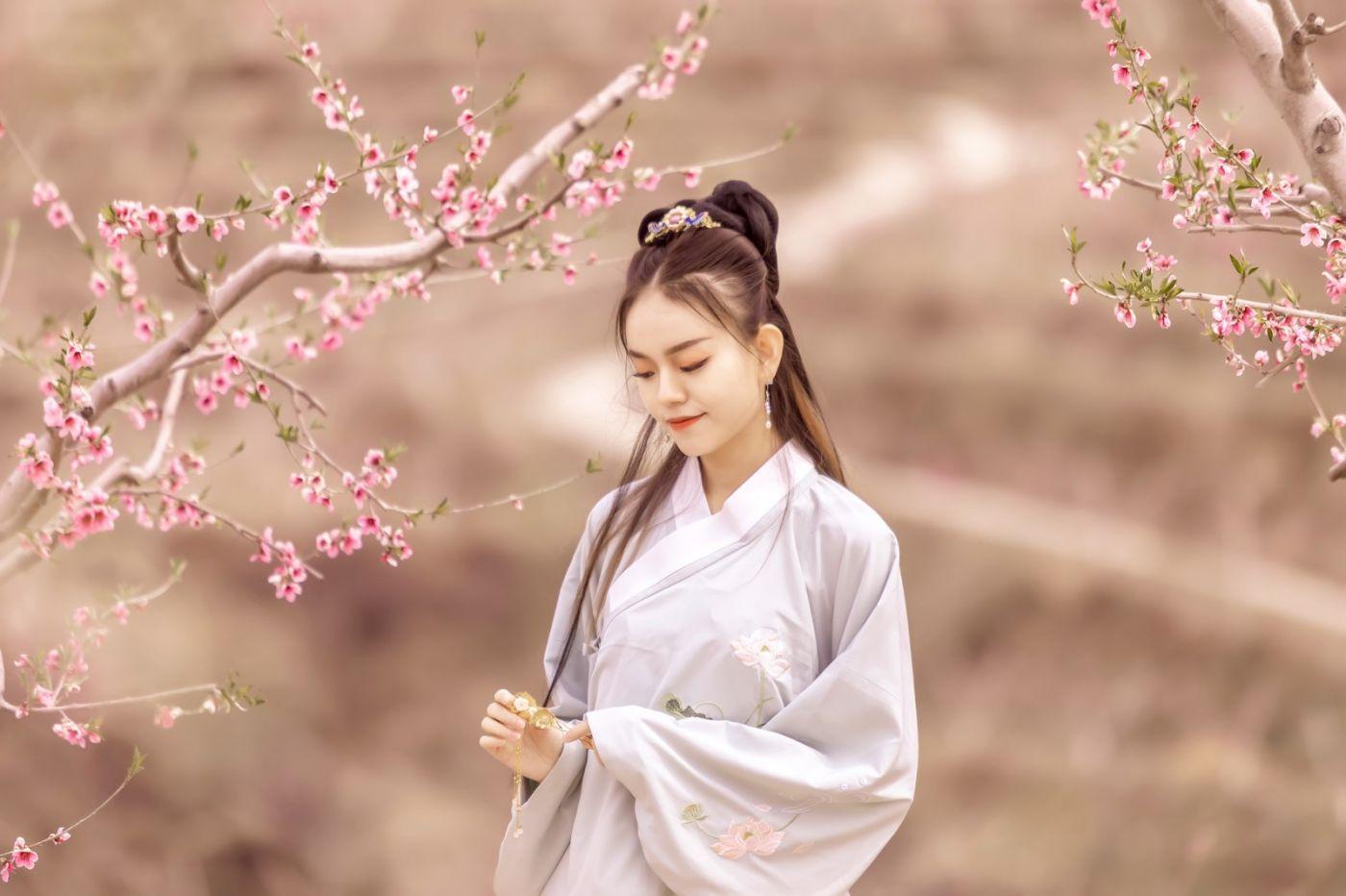 临沂汉服女孩晓艺的春天_图1-7