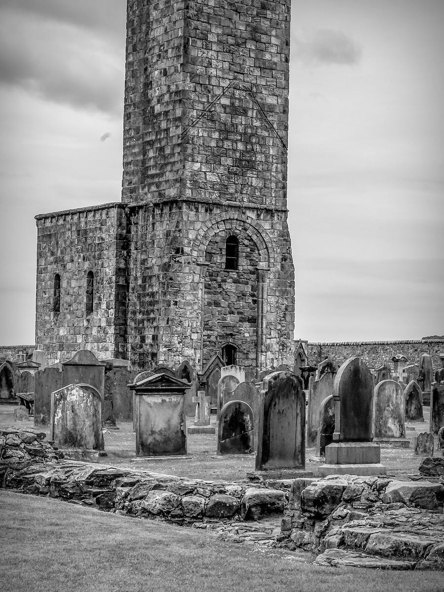 苏格兰圣安德鲁主教座堂(Cathedral of St Andrew)遗迹,九百年历史 ..._图1-39