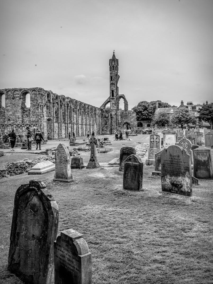 苏格兰圣安德鲁主教座堂(Cathedral of St Andrew)遗迹,九百年历史 ..._图1-40