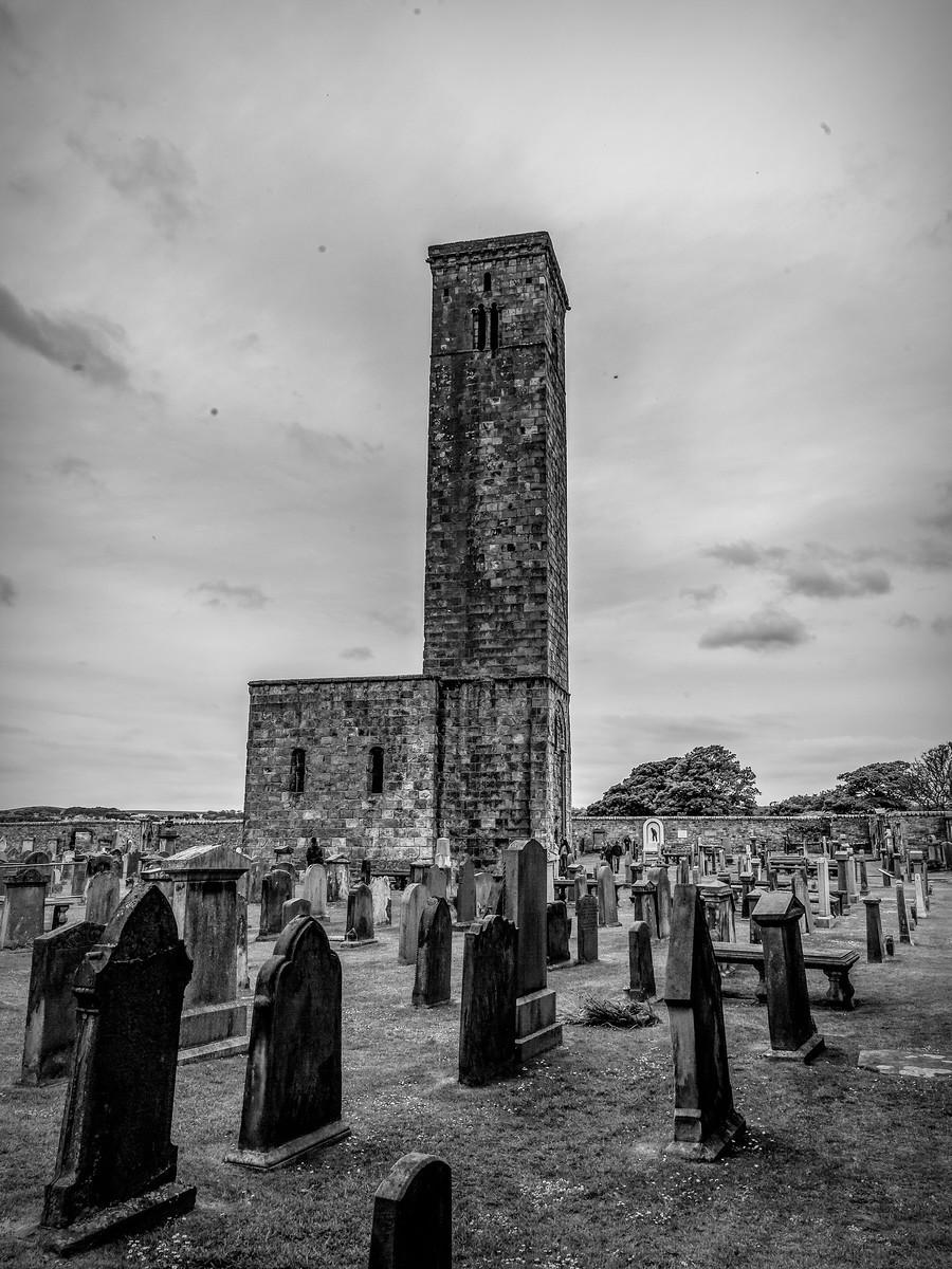 苏格兰圣安德鲁主教座堂(Cathedral of St Andrew)遗迹,九百年历史 ..._图1-36