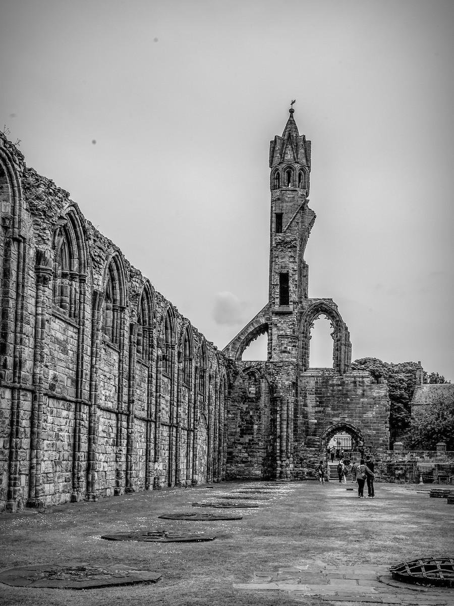 苏格兰圣安德鲁主教座堂(Cathedral of St Andrew)遗迹,九百年历史 ..._图1-30