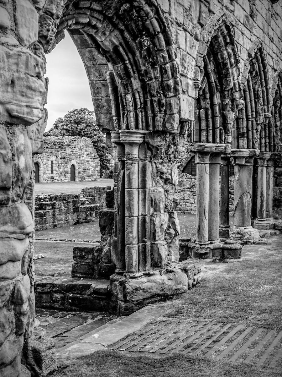 苏格兰圣安德鲁主教座堂(Cathedral of St Andrew)遗迹,九百年历史 ..._图1-31