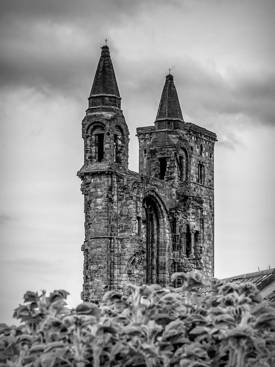 苏格兰圣安德鲁主教座堂(Cathedral of St Andrew)遗迹,九百年历史 ..._图1-35