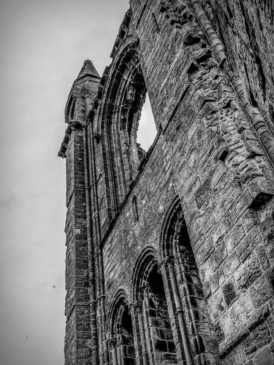 苏格兰圣安德鲁主教座堂(Cathedral of St Andrew)遗迹,九百年历史 ..._图1-32