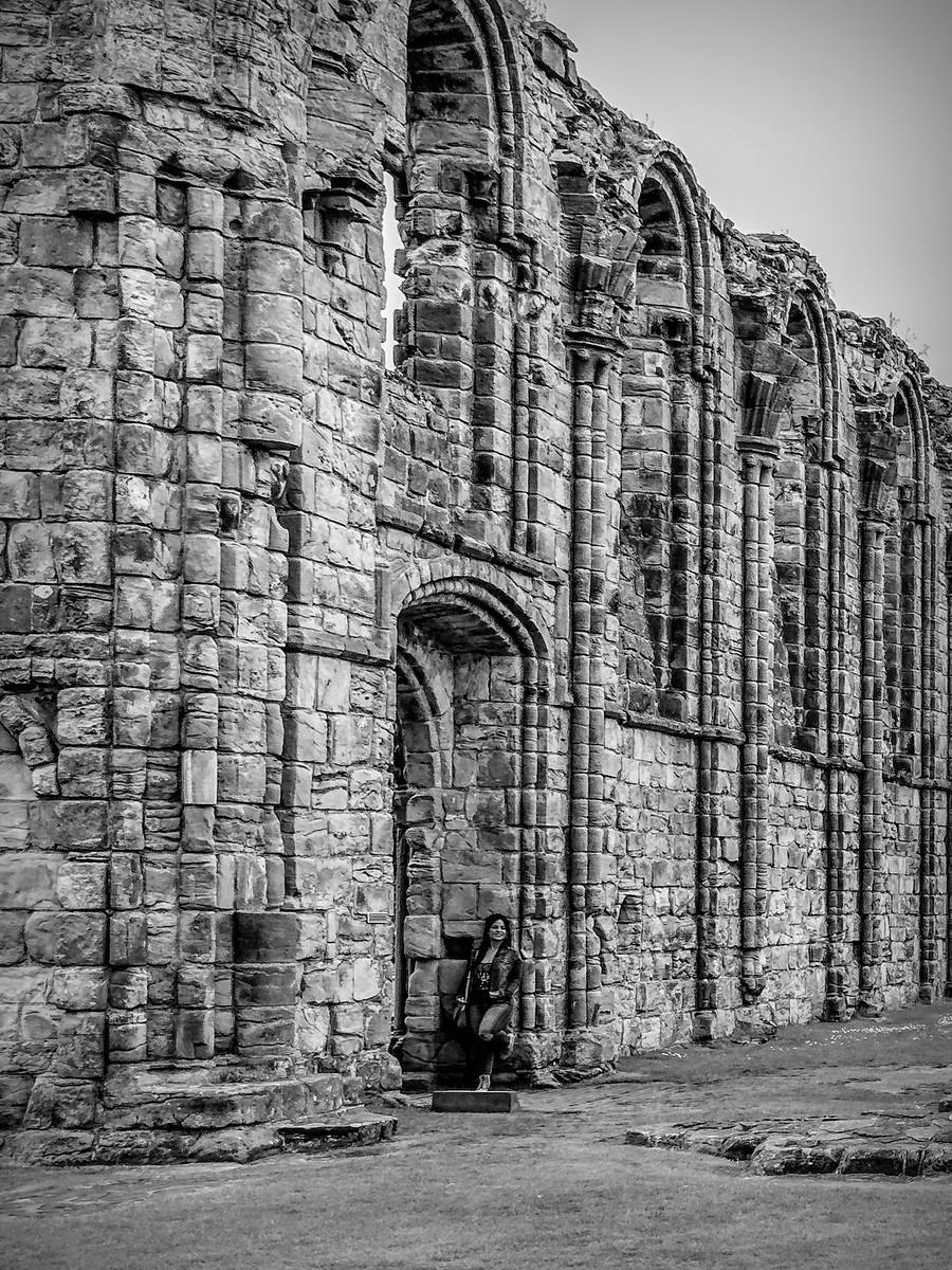 苏格兰圣安德鲁主教座堂(Cathedral of St Andrew)遗迹,九百年历史 ..._图1-29
