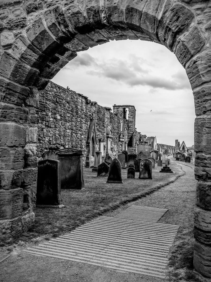 苏格兰圣安德鲁主教座堂(Cathedral of St Andrew)遗迹,九百年历史 ..._图1-25