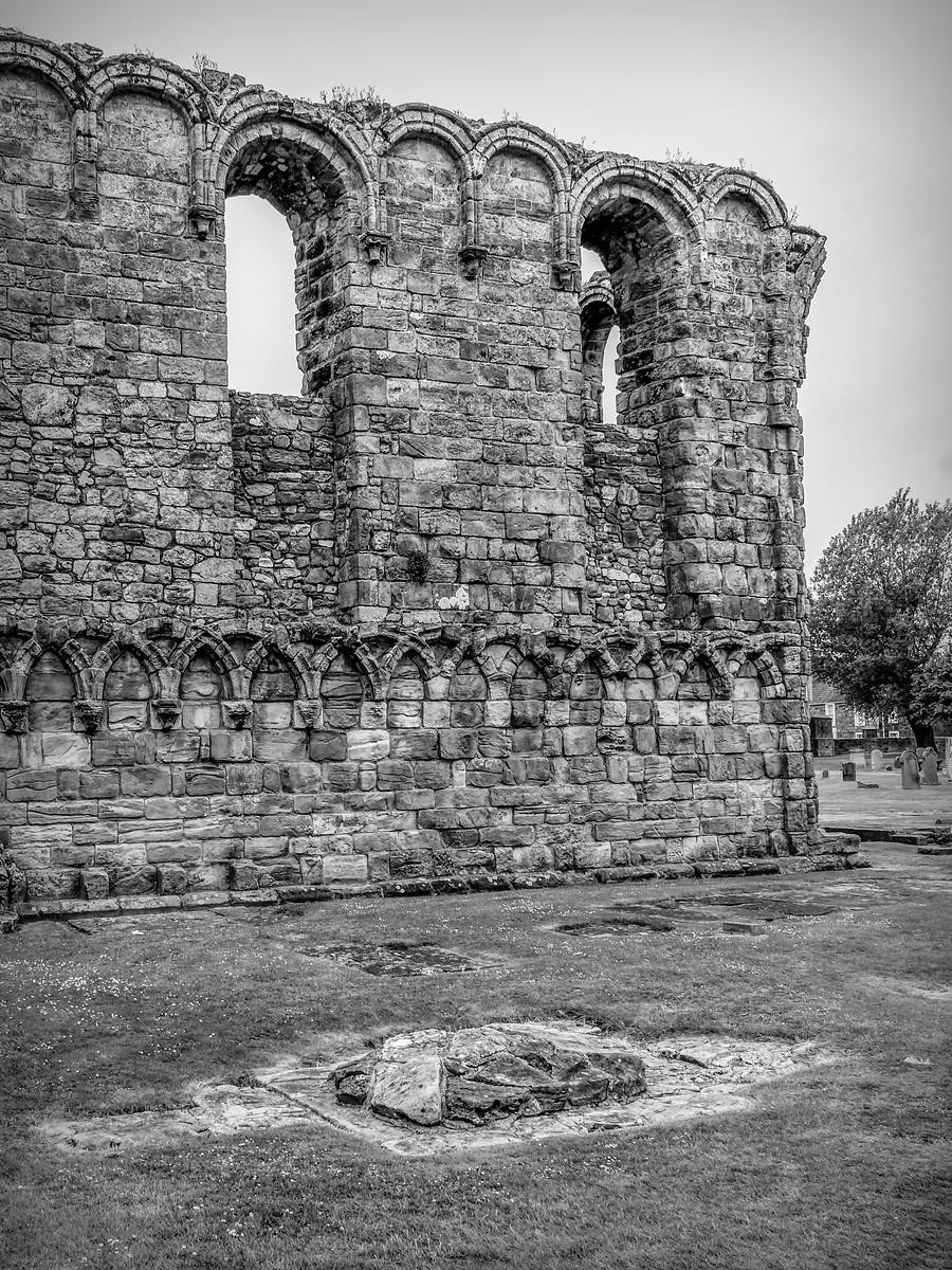 苏格兰圣安德鲁主教座堂(Cathedral of St Andrew)遗迹,九百年历史 ..._图1-26