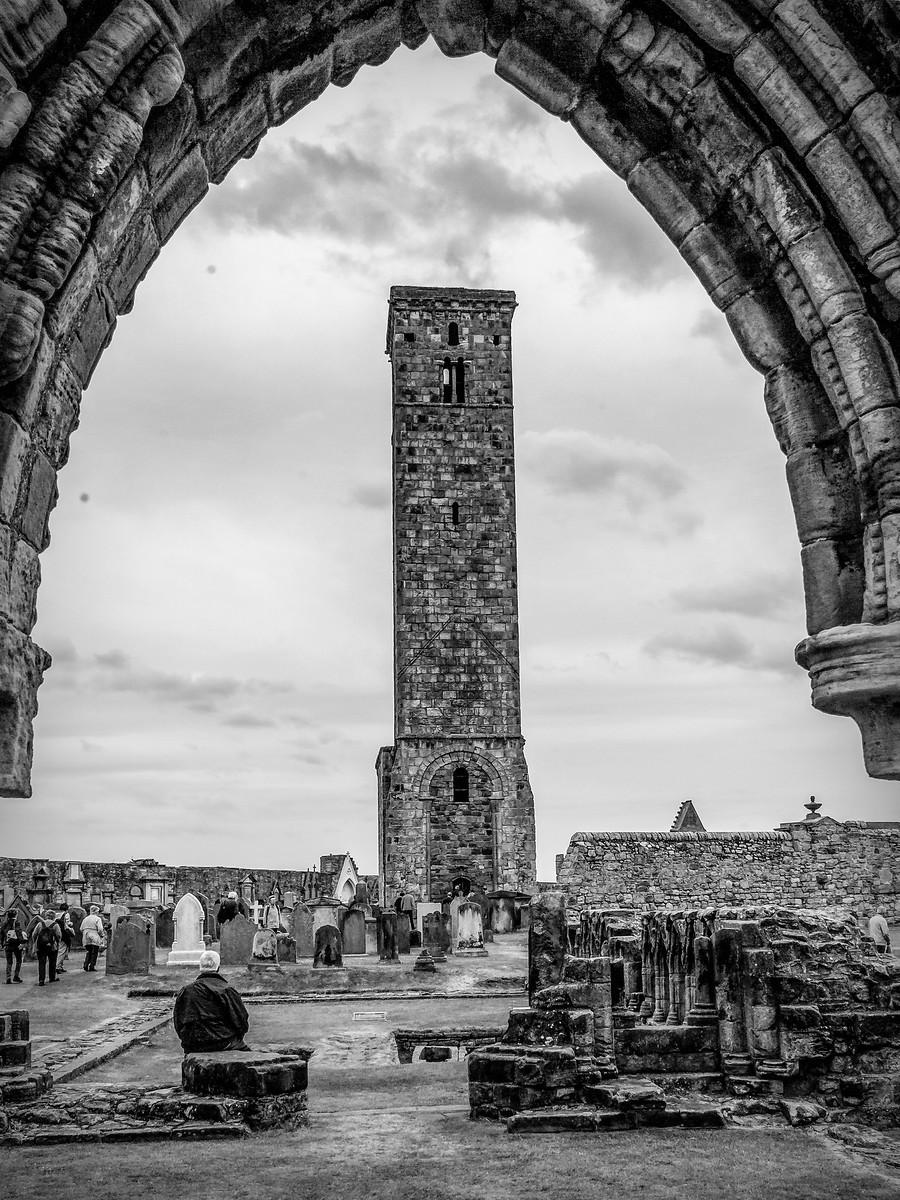 苏格兰圣安德鲁主教座堂(Cathedral of St Andrew)遗迹,九百年历史 ..._图1-27