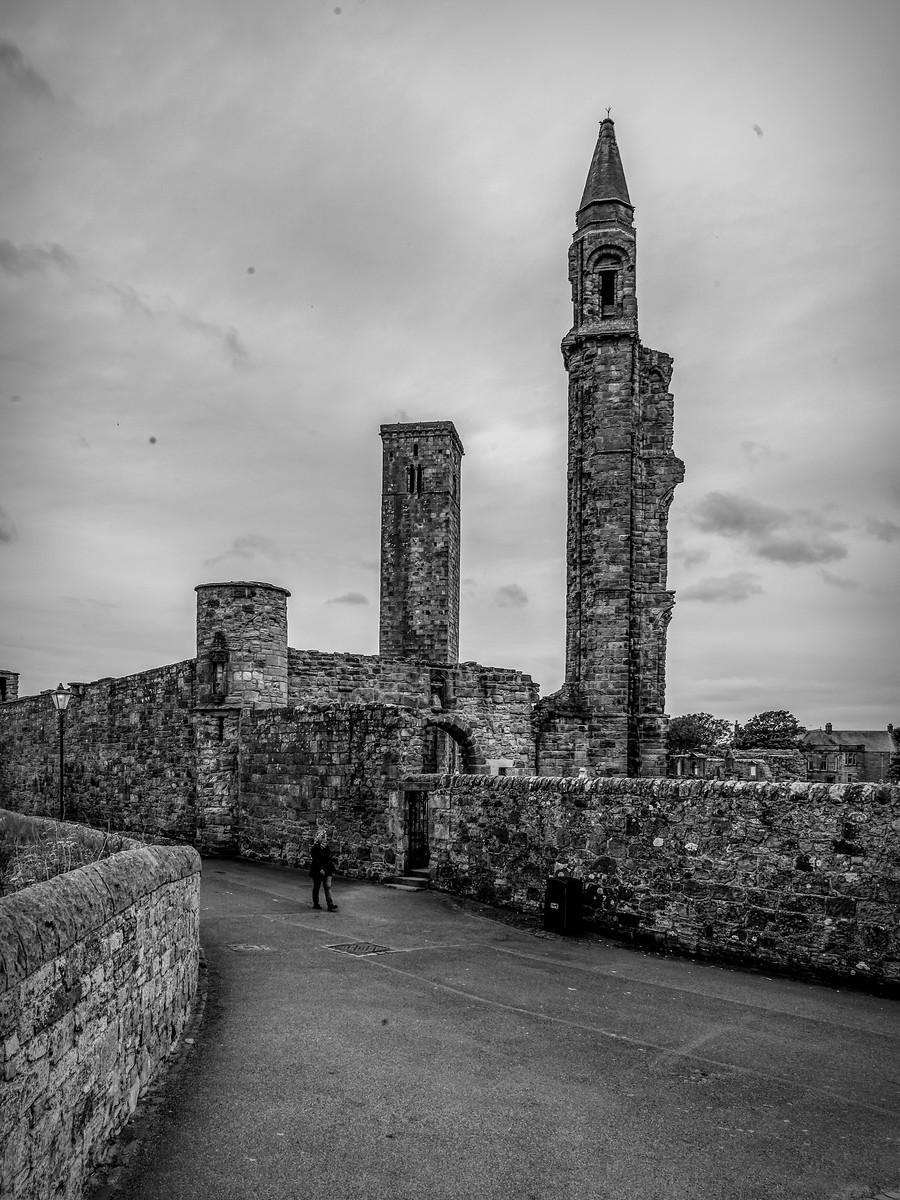 苏格兰圣安德鲁主教座堂(Cathedral of St Andrew)遗迹,九百年历史 ..._图1-28