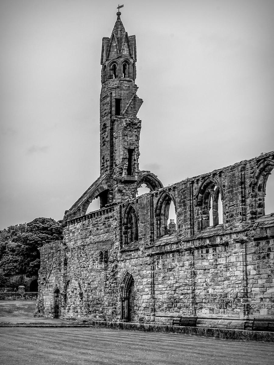 苏格兰圣安德鲁主教座堂(Cathedral of St Andrew)遗迹,九百年历史 ..._图1-7