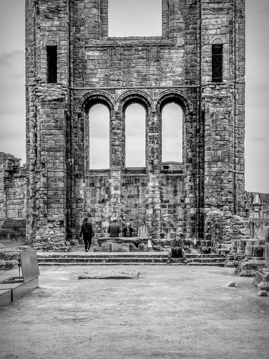 苏格兰圣安德鲁主教座堂(Cathedral of St Andrew)遗迹,九百年历史 ..._图1-9