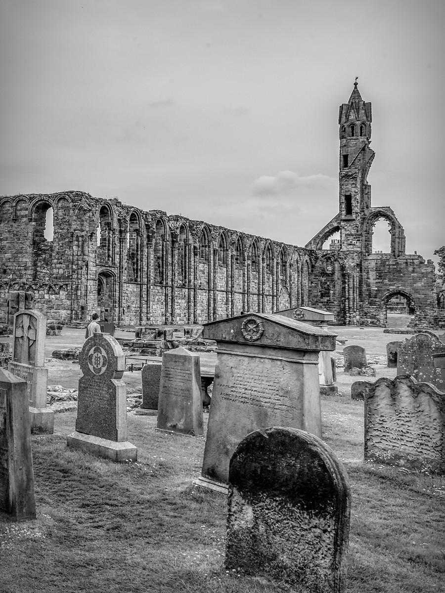 苏格兰圣安德鲁主教座堂(Cathedral of St Andrew)遗迹,九百年历史 ..._图1-6