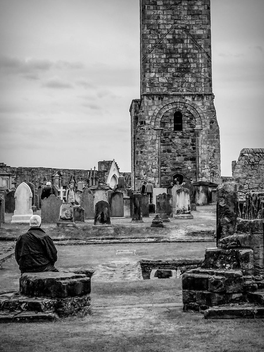 苏格兰圣安德鲁主教座堂(Cathedral of St Andrew)遗迹,九百年历史 ..._图1-5