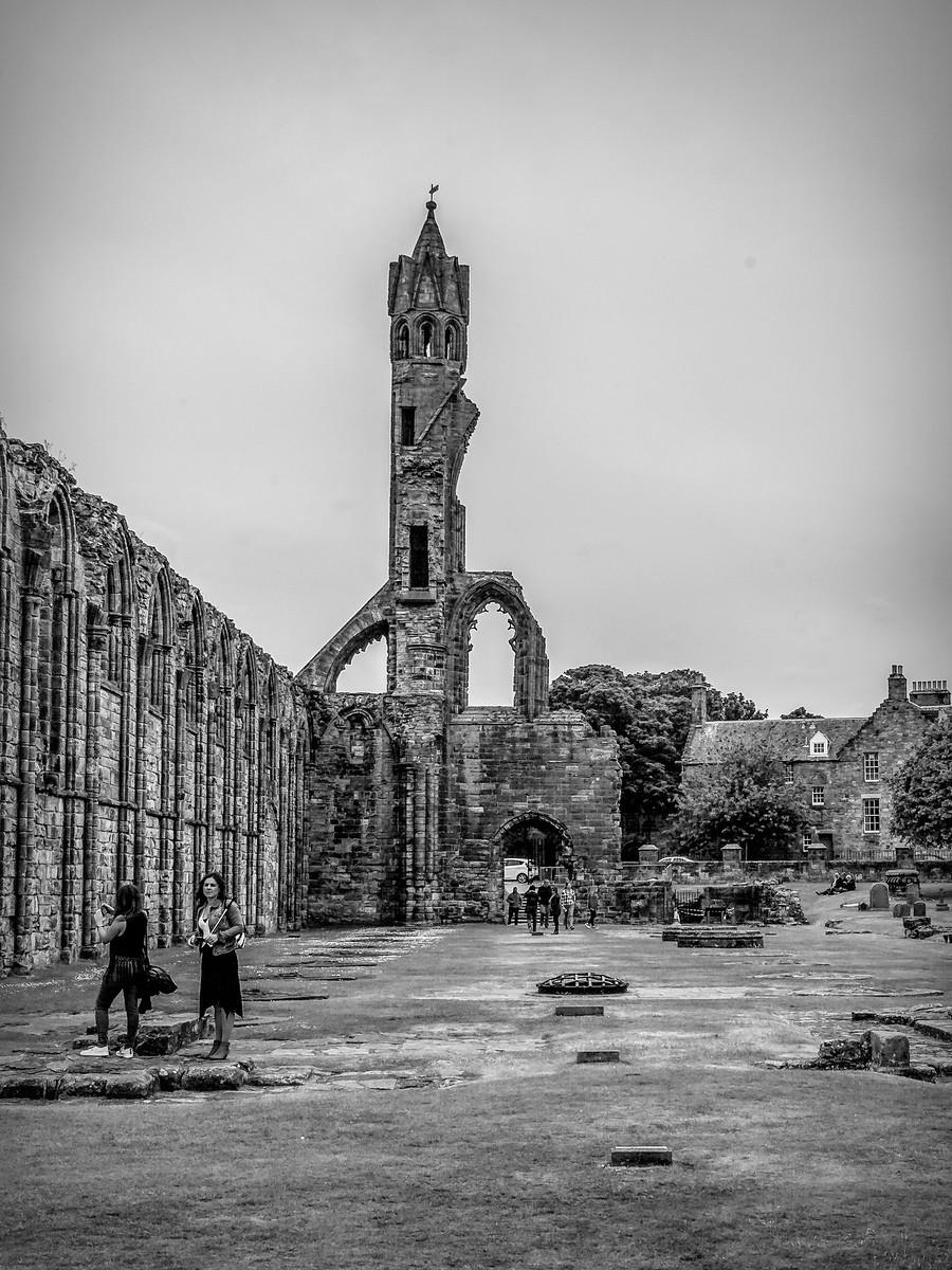 苏格兰圣安德鲁主教座堂(Cathedral of St Andrew)遗迹,九百年历史 ..._图1-11