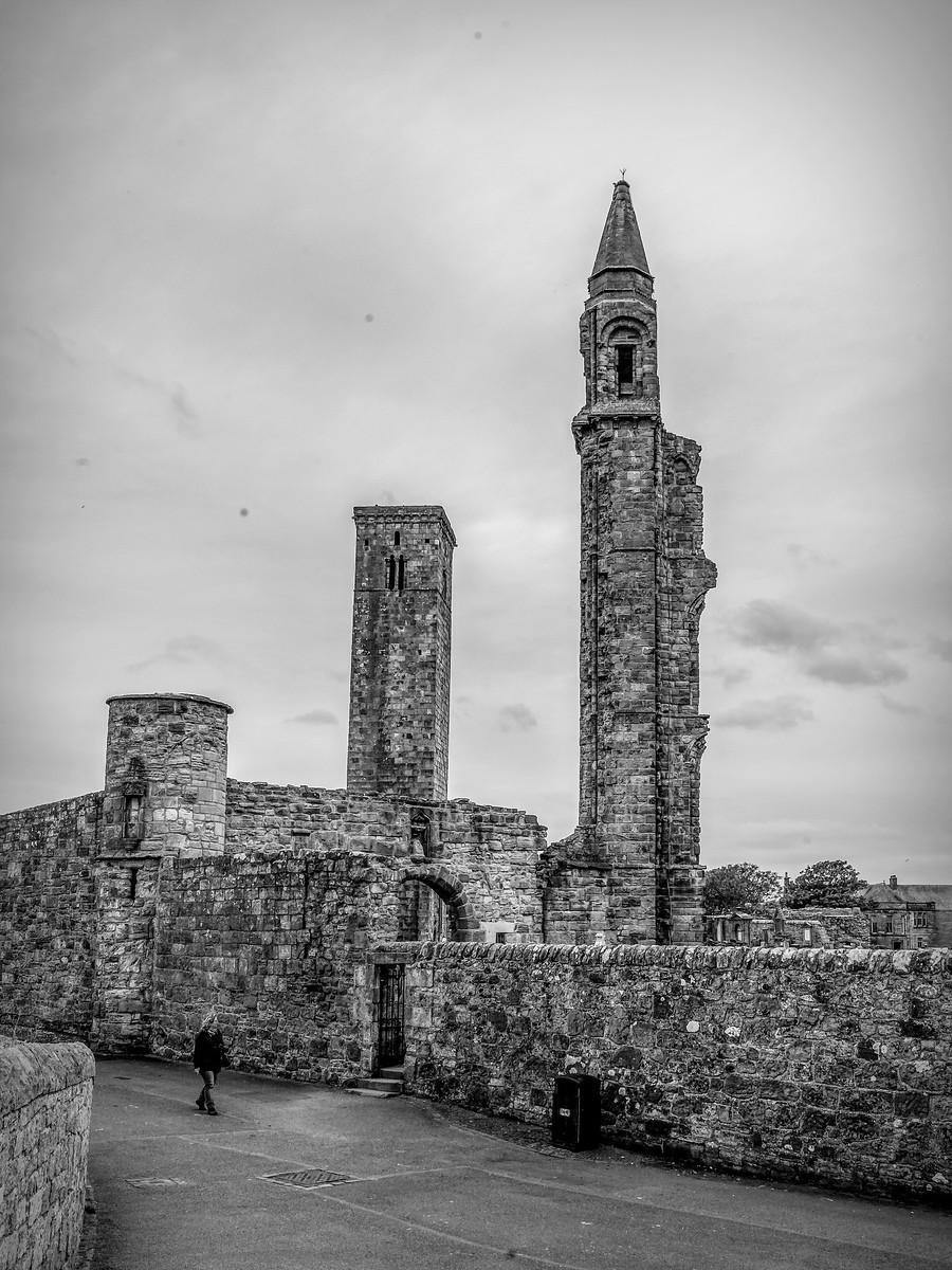 苏格兰圣安德鲁主教座堂(Cathedral of St Andrew)遗迹,九百年历史 ..._图1-12