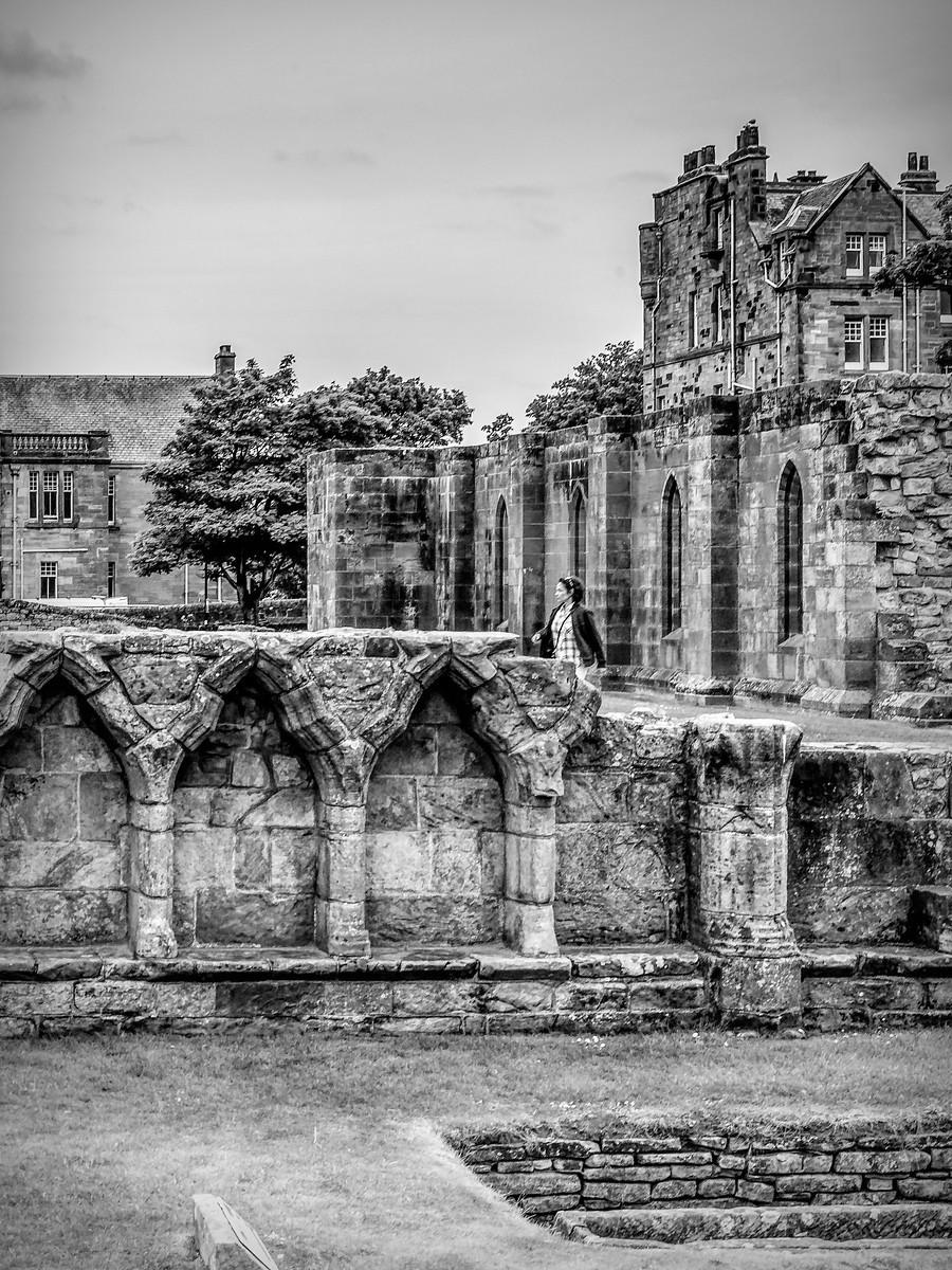 苏格兰圣安德鲁主教座堂(Cathedral of St Andrew)遗迹,九百年历史 ..._图1-16