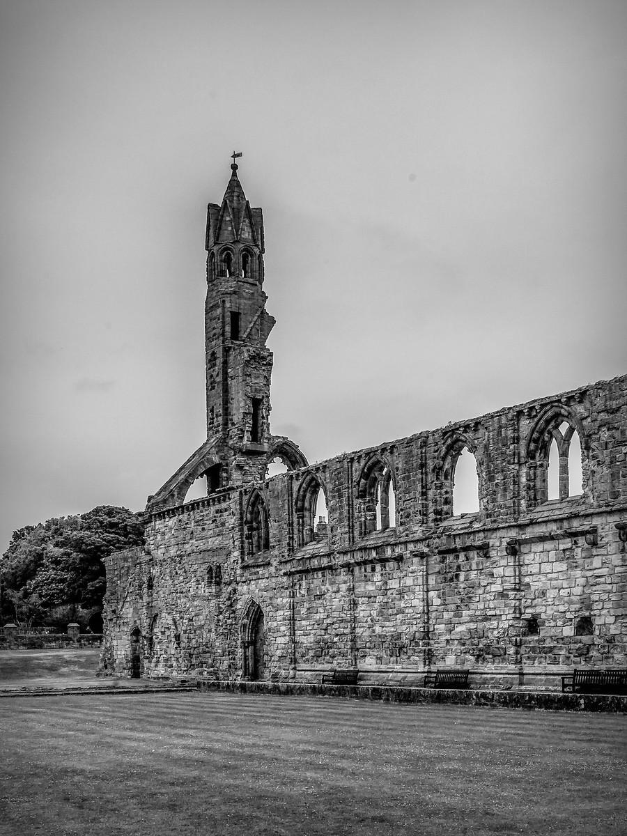 苏格兰圣安德鲁主教座堂(Cathedral of St Andrew)遗迹,九百年历史 ..._图1-14