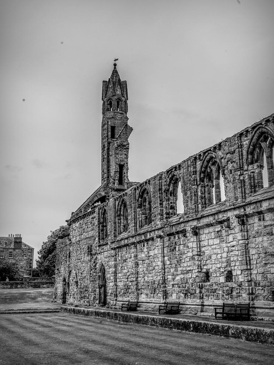 苏格兰圣安德鲁主教座堂(Cathedral of St Andrew)遗迹,九百年历史 ..._图1-17