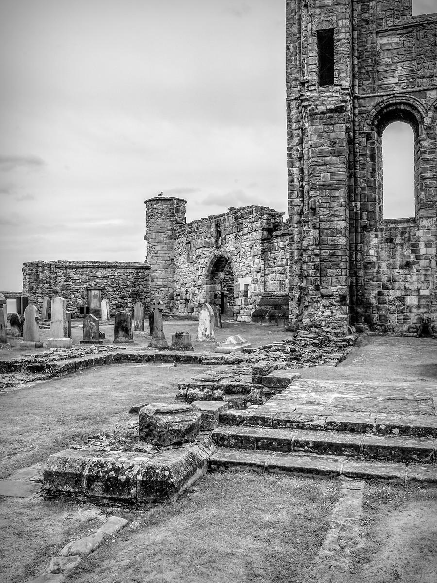 苏格兰圣安德鲁主教座堂(Cathedral of St Andrew)遗迹,九百年历史 ..._图1-18