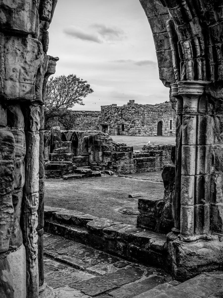 苏格兰圣安德鲁主教座堂(Cathedral of St Andrew)遗迹,九百年历史 ..._图1-19