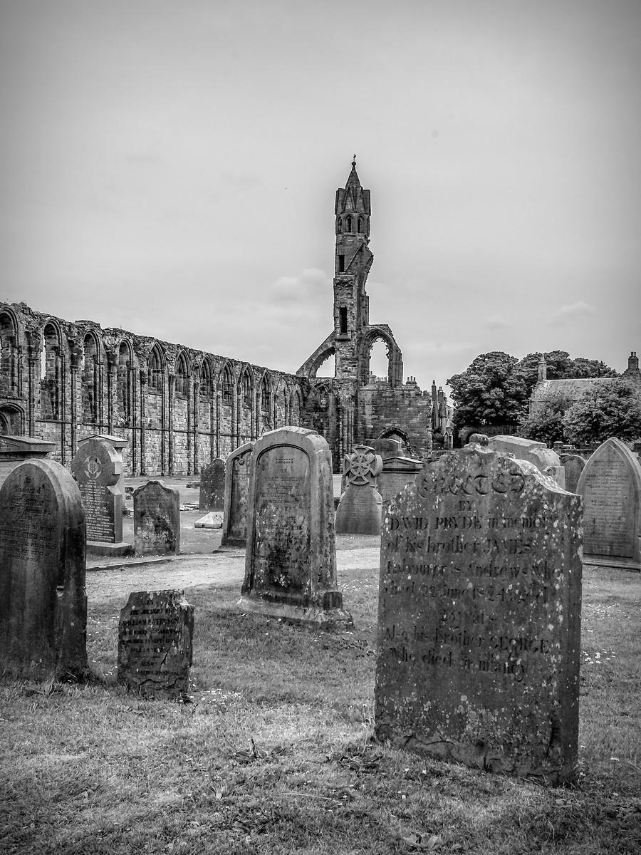 苏格兰圣安德鲁主教座堂(Cathedral of St Andrew)遗迹,九百年历史 ..._图1-20