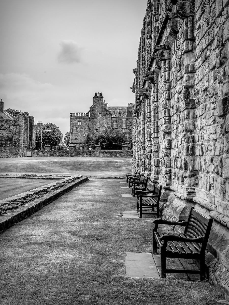 苏格兰圣安德鲁主教座堂(Cathedral of St Andrew)遗迹,九百年历史 ..._图1-24