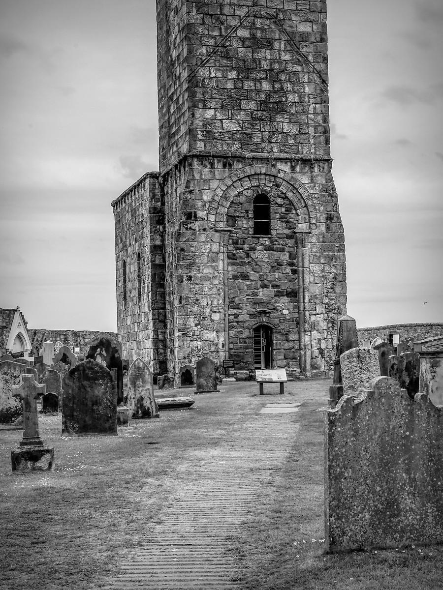 苏格兰圣安德鲁主教座堂(Cathedral of St Andrew)遗迹,九百年历史 ..._图1-23