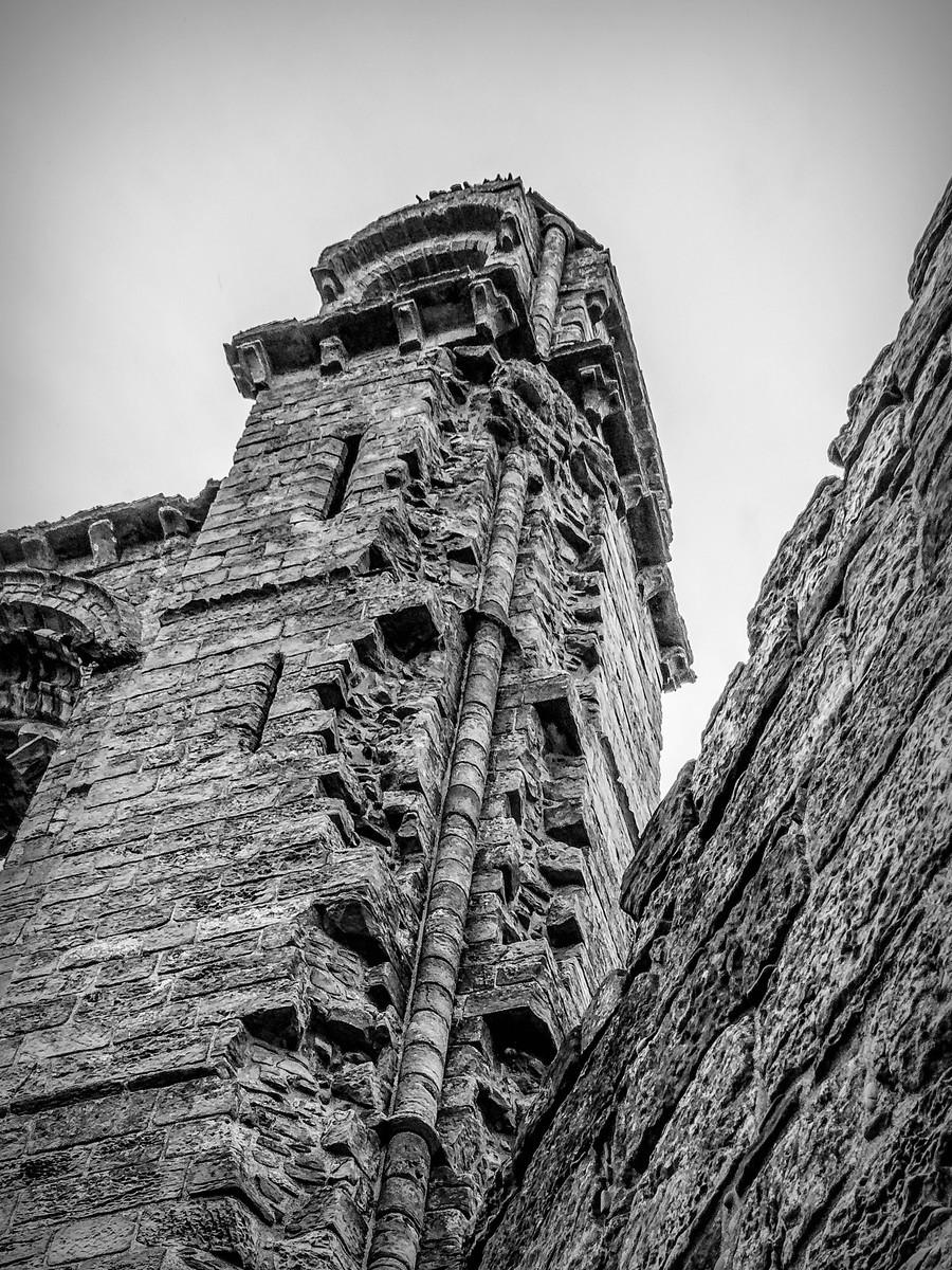 苏格兰圣安德鲁主教座堂(Cathedral of St Andrew)遗迹,九百年历史 ..._图1-22