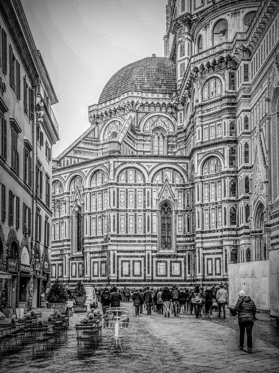 意大利佛罗伦斯主教堂,精雕细琢_图1-6
