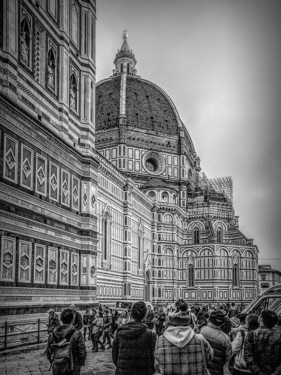 意大利佛罗伦斯主教堂,精雕细琢_图1-7