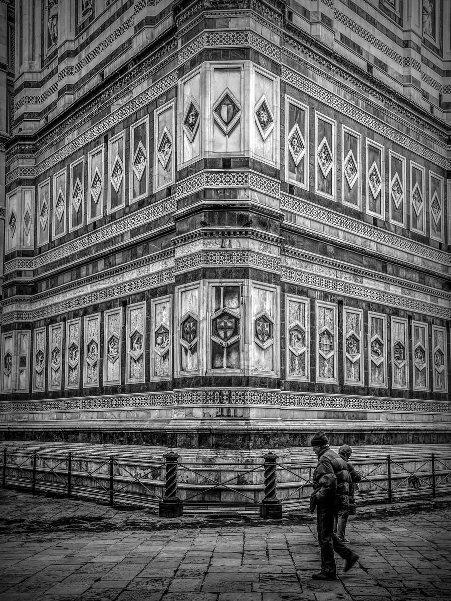 意大利佛罗伦斯主教堂,精雕细琢_图1-8