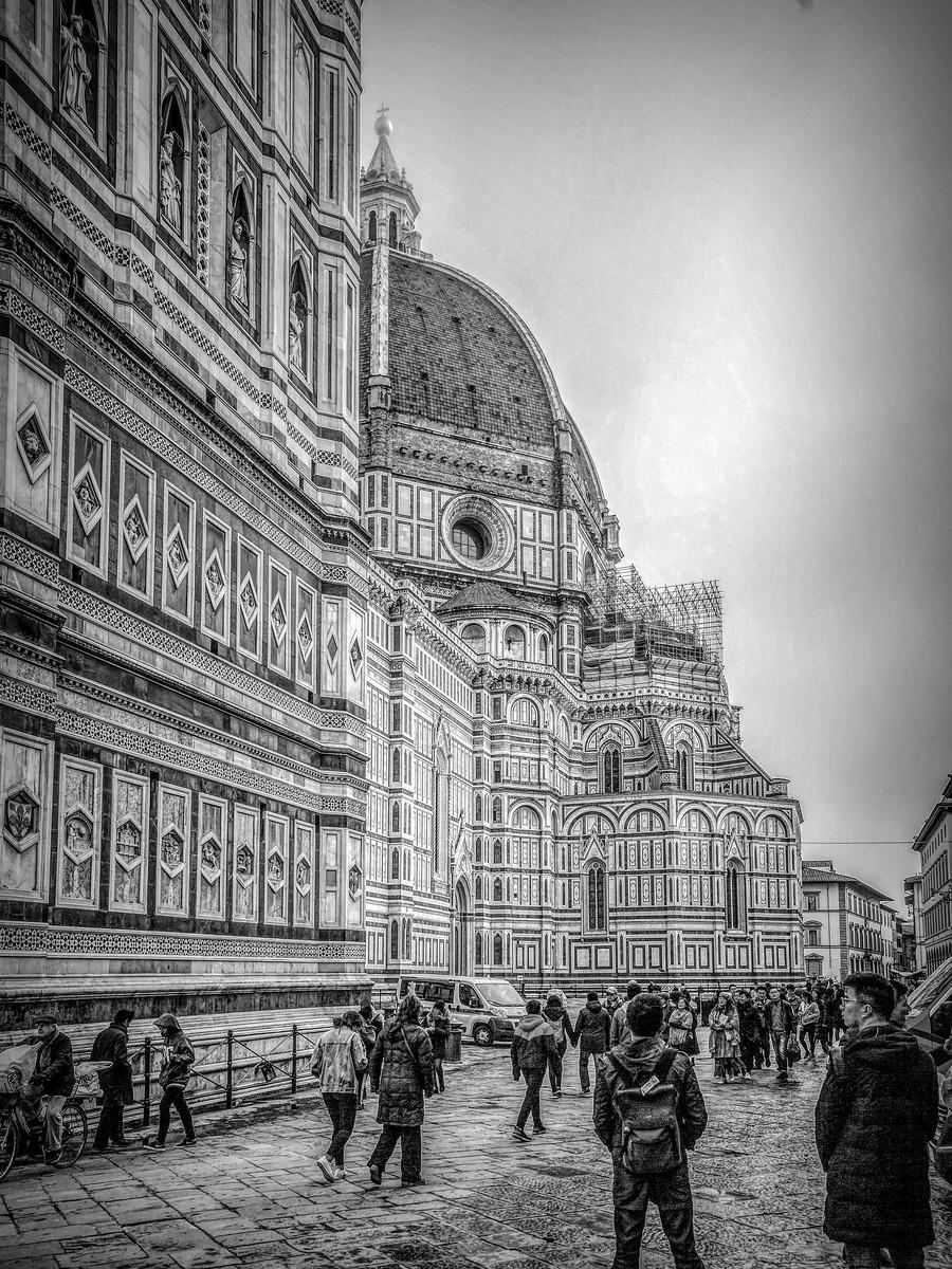 意大利佛罗伦斯主教堂,精雕细琢_图1-12