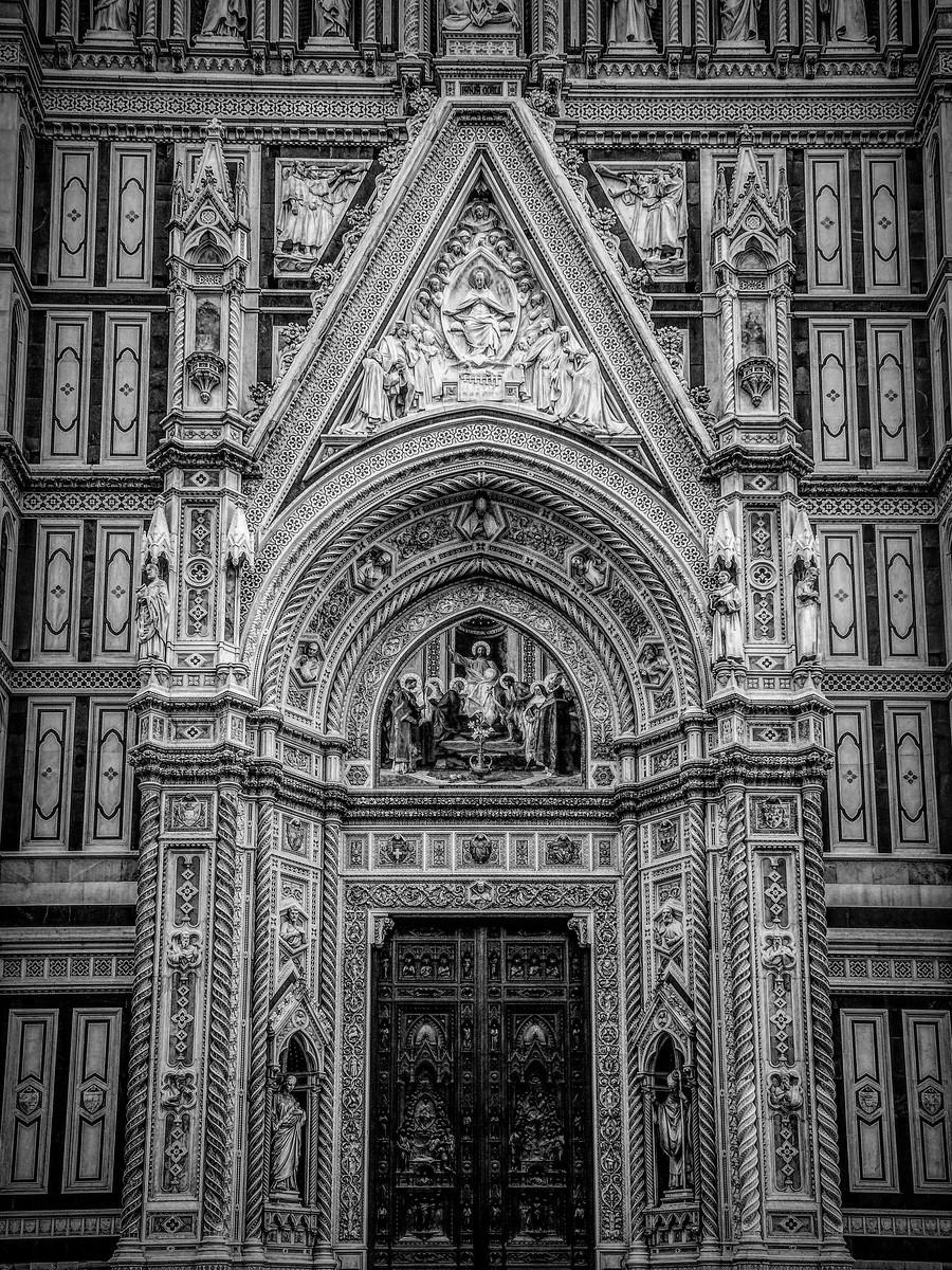 意大利佛罗伦斯主教堂,精雕细琢_图1-1