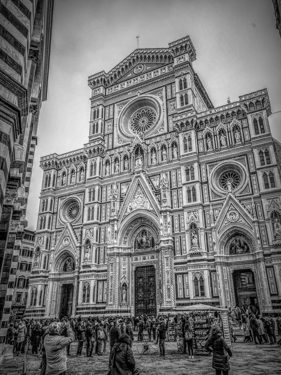 意大利佛罗伦斯主教堂,精雕细琢_图1-2