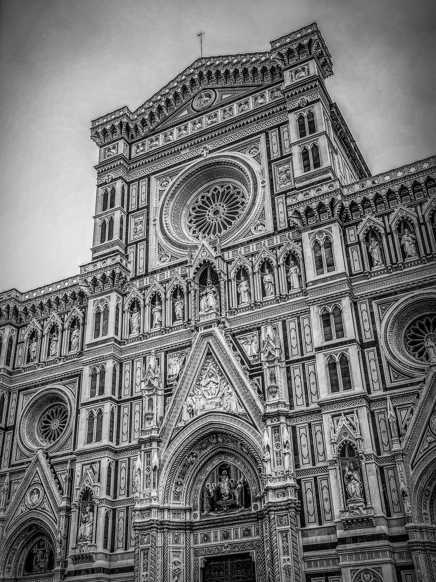意大利佛罗伦斯主教堂,精雕细琢_图1-3