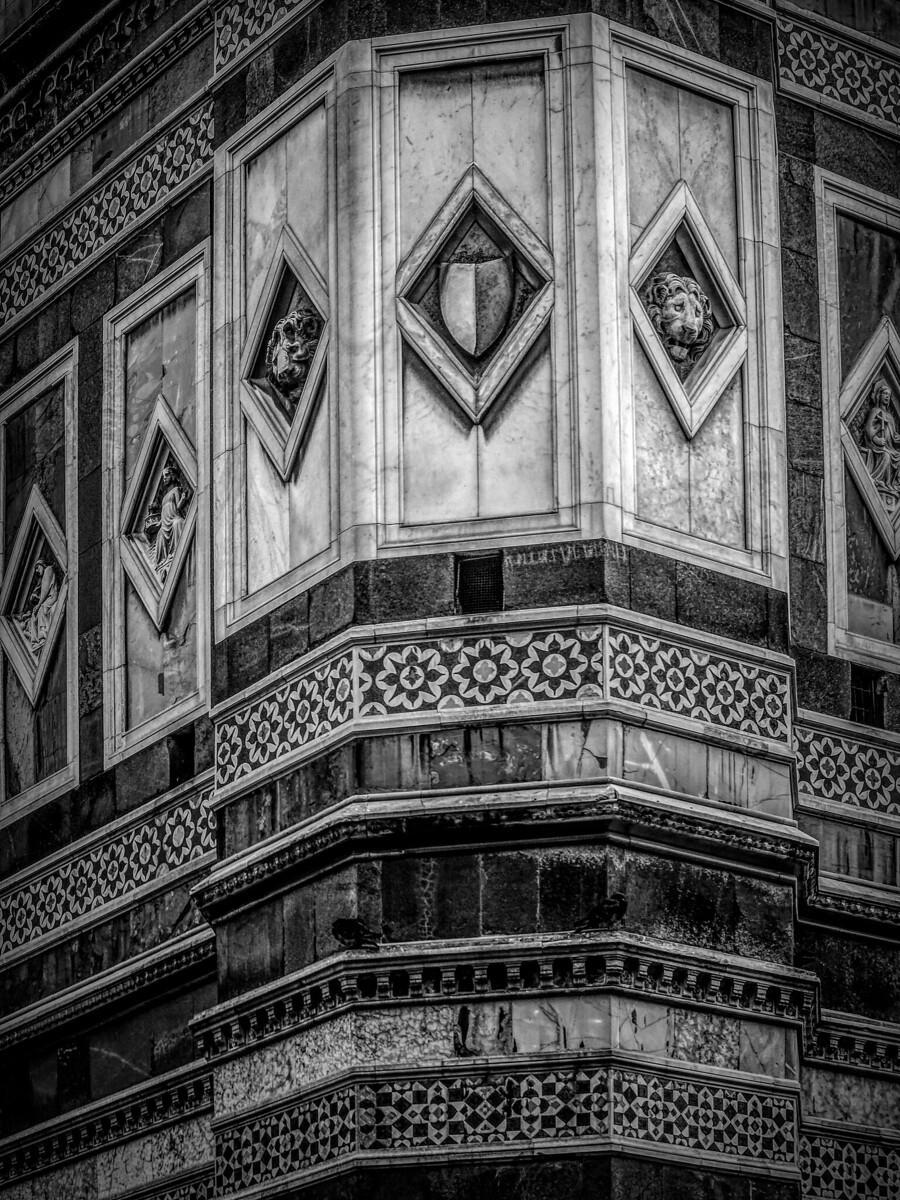 意大利佛罗伦斯主教堂,精雕细琢_图1-4