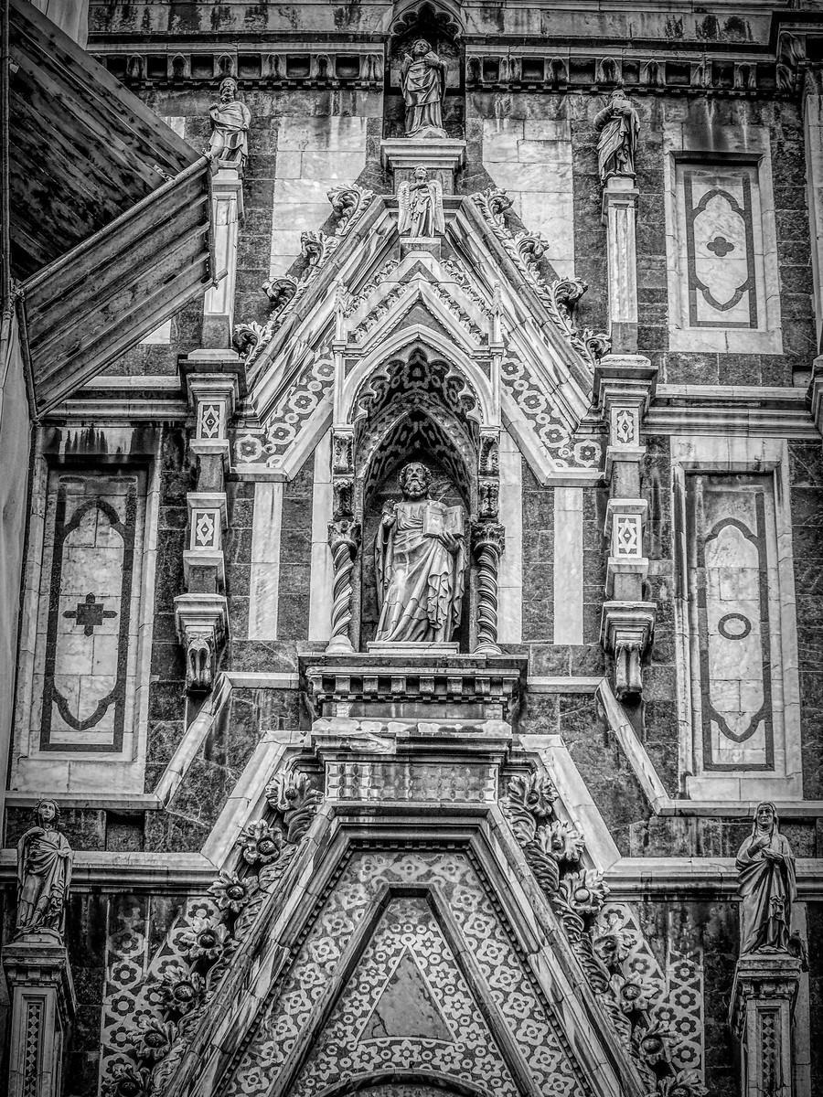 意大利佛罗伦斯主教堂,精雕细琢_图1-15