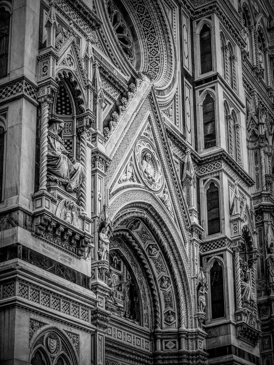 意大利佛罗伦斯主教堂,精雕细琢_图1-20